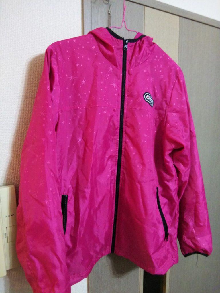 ピンク色のジャケット