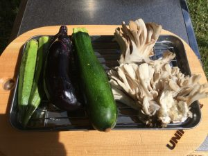 素揚げ野菜